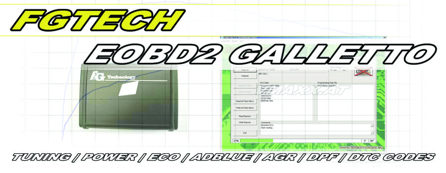 VP.T ENGINEERING presents FG Tech EOBD2 by Galletto